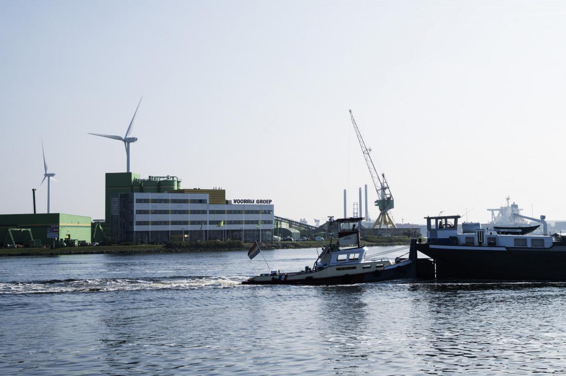 Locatie Voorbij Prefab aan Noordzeekanaal