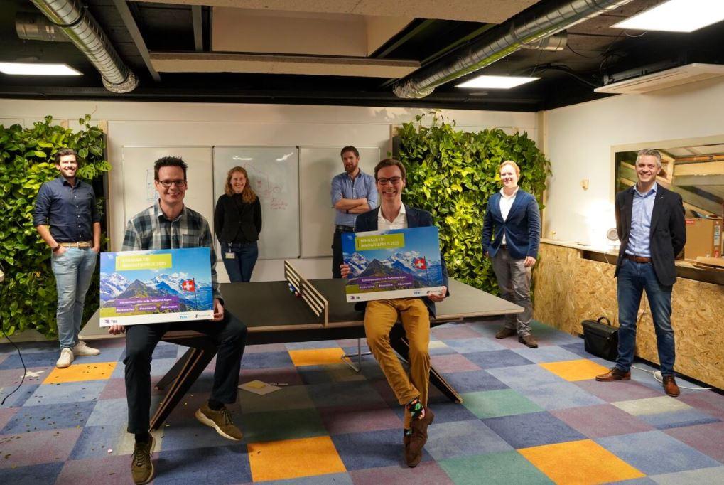 Het Groene Casco wint TBI Innovatieprijs